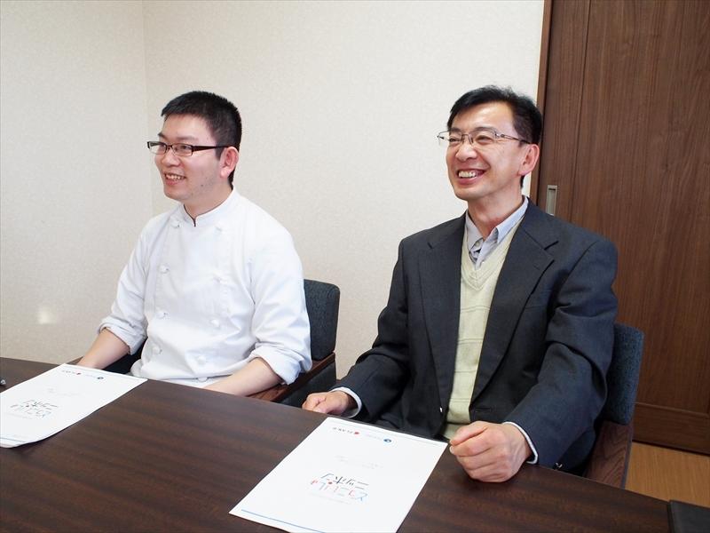 有限会社オオガキの大柿純一さんと息子の陽介さん