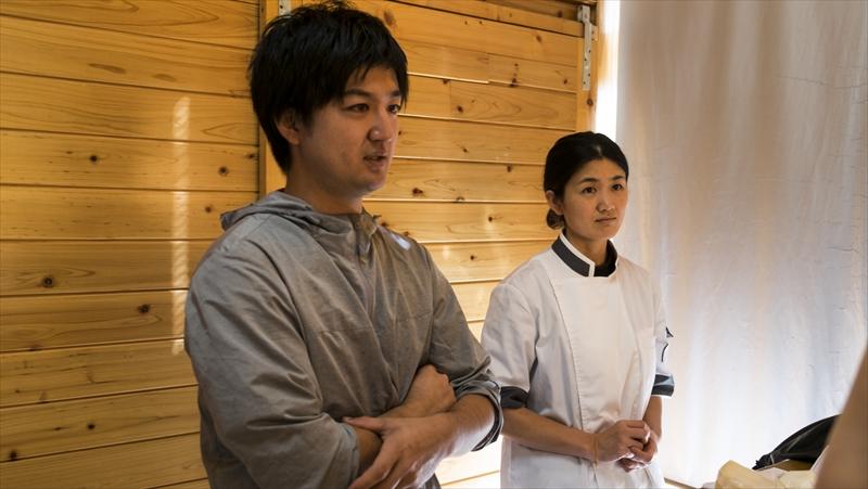 ナカシマファーム、中島大貴さん(左)、中島千明さん(右)