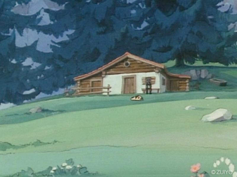 ハイジの山小屋