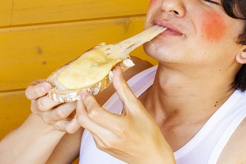 ハイジのチーズパン再現