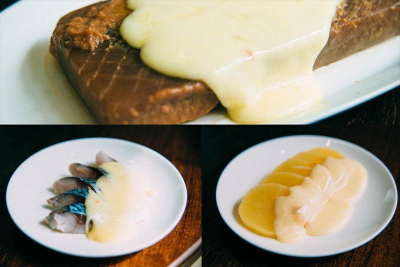 ラクレットチーズ変わり種