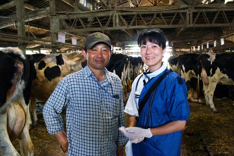 農家さんと中山先生