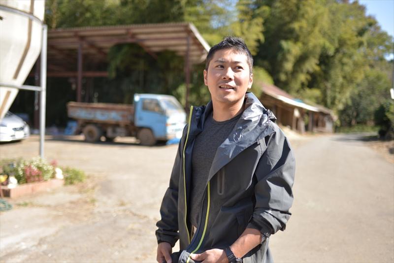 木名瀬牧場を営む木名瀬一也さん